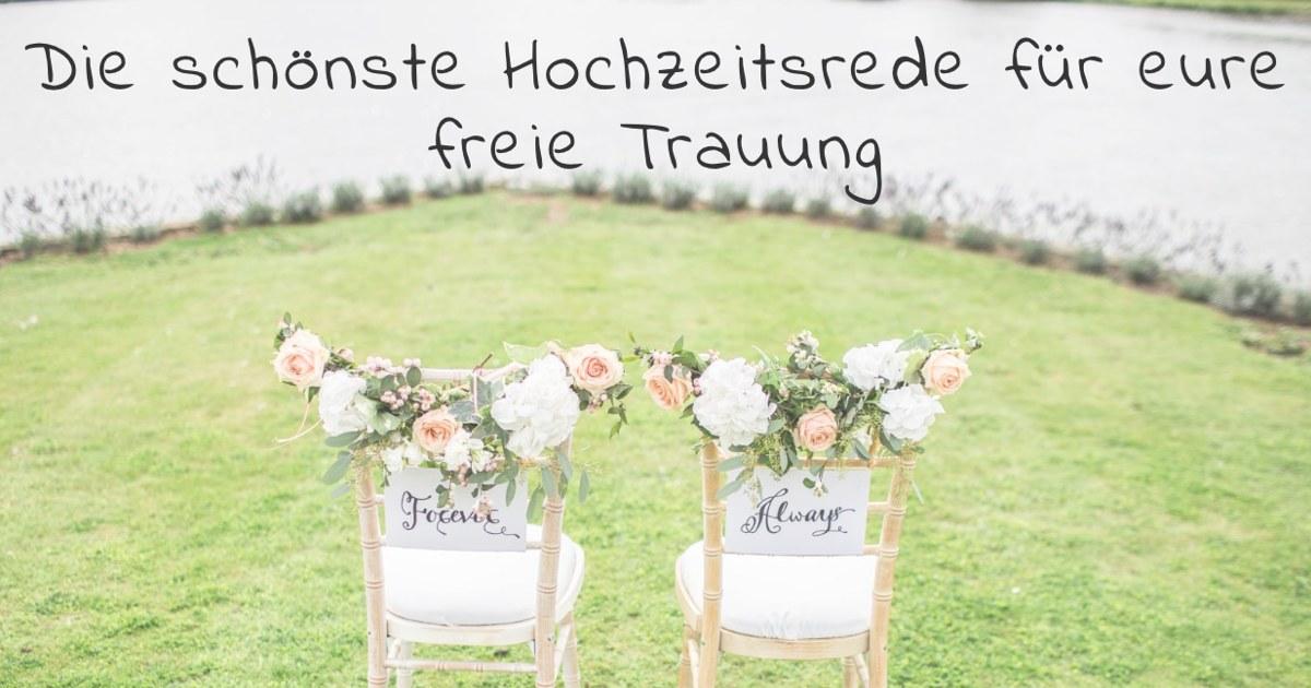 Freie Trauung Rede Vorlage Musterbeispiele Hochzeitsreden